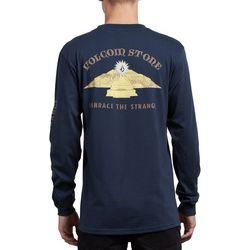 Volcom Mens Dooby Tron Long Sleeve T-Shirt
