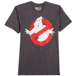 Ripple Junction Mens Ghostbusters Logo T-Shirt