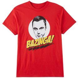 Ripple Junction Mens Bazinga T-Shirt
