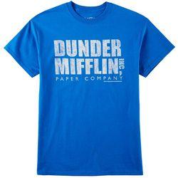 Horizon Mens Dunder Mifflin Distressed T-Shirt
