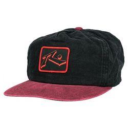 Rusty Mens Drip Logo Snapback Hat