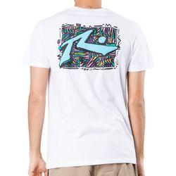 Rusty Mens Zig Zag Short Sleeve T-Shirt