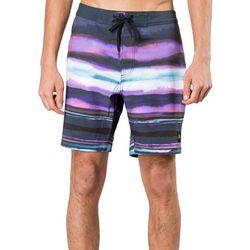 Rusty Mens Washed Stripe Boardshorts