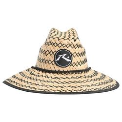 Rusty Mens Boony Straw Weave Hat