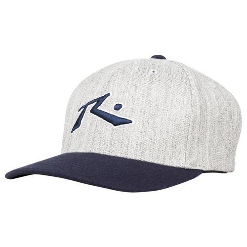 6b0994bfd4103 Rusty Mens Chronic 3 FlexFit Heathered Hat