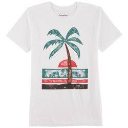 Awesome Sauce Mens Simple Palm Tree T-Shirt