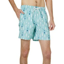 Ocean Current Mens Bora Bora Printed Volley Short