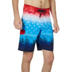 Ocean Curent Mens Fly Dye Boardshorts