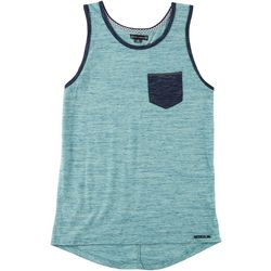 Ocean Current Mens Meaty Chest Pocket Tank Top