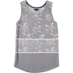 Ocean Current Mens Amped Floral Flamingo Tank Top