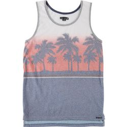 Ocean Current Mens Palm Tree Tank Top