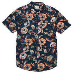 Billabong Mens Sundays Floral Print Woven Shirt