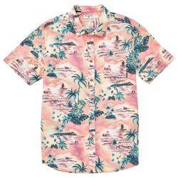 Billabong Mens Sundays Island Print Woven Shirt