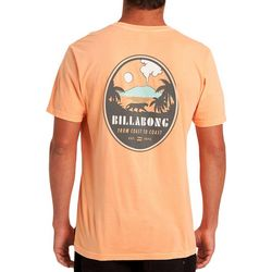 Billabong Mens Volcano Short Sleeve T-Shirt