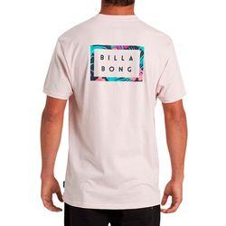 Billabong Mens Diecut Logo Short Sleeve T-Shirt