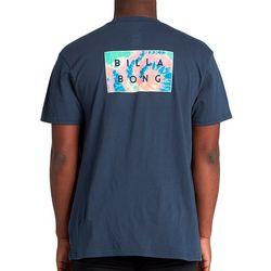 Billabong Mens Diecut Short Sleeve T-Shirt