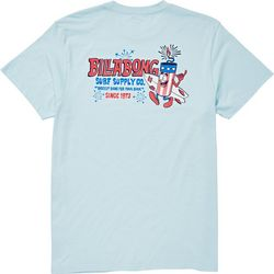 Billabong Mens Firecracker Short Sleeve T-Shirt