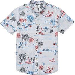 Billabong Mens Sundays July Woven Button Down Shirt