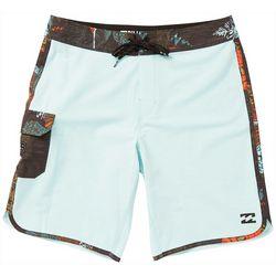 Billabong Mens 73X Tropical Trim Boardshorts