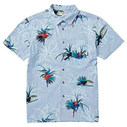 Billabong Mens Sundays Floral Woven Button Down Shirt