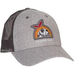 Flomotion Mens Flag Heathered Trucker Hat