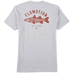 Flomotion Mens Snook Heathered T-Shirt