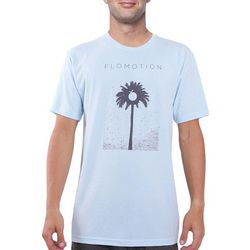 Flomotion Mens Palm Tree T-Shirt