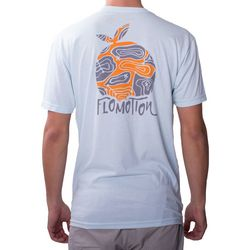 Flomotion Mens Topo Orange T-Shirt