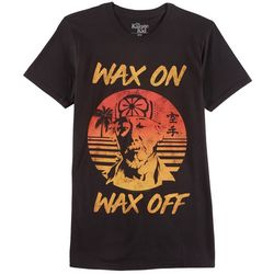 Philcos Mens Karate Kids Wax On Wax Off T-Shirt