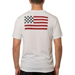 Fox Mens Patriotic Premium T-Shirt