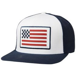 Fox Mens Patriotic Snapback Hat