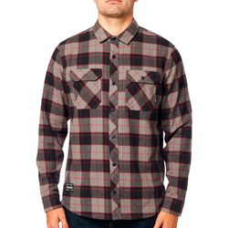 Fox Mens Traildust 2.0 Plaid Flannel Long Sleeve Shirt