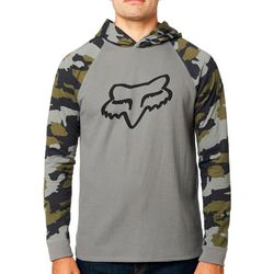 Fox Mens Subzcribe Hooded Camo Long Sleeve T-Shirt