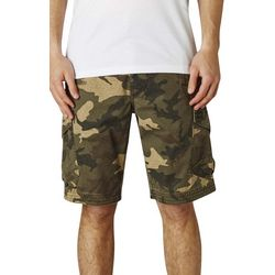 Fox Mens Slambozo Camo Print Cargo Shorts