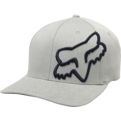 Fox Racing Mens Solid Clouded Flex Hat