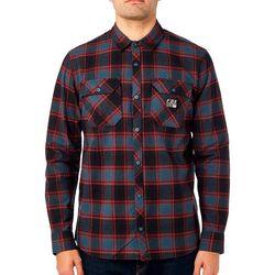 Fox Mens Traildust Plaid Flannel Shirt