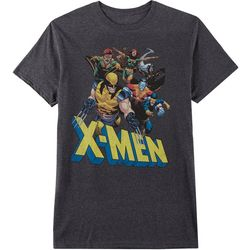Mad Engine Mens X-Men Group Logo T-Shirt