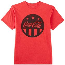 Coca-Cola Mens Flag Logo T-Shirt