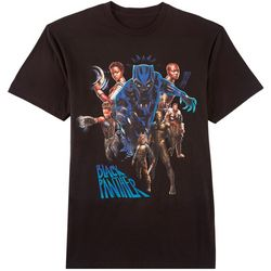 Black Panther Mens Team Panther T-Shirt