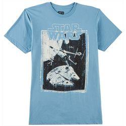 Star Wars Mens Sketched Concept T-Shirt