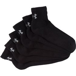 Under Armour Performance Mens 6-pk. Quarter Socks