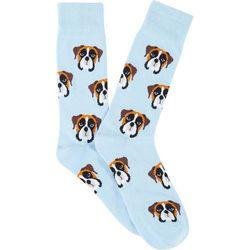 Frenchy & Friends Mens Boxer Crew Socks