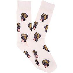Frenchy & Friends Mens English Mastiff Crew Socks