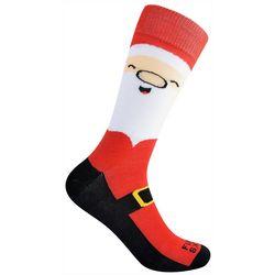 Funky Socks Mens Santa Crew Socks