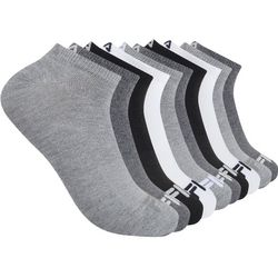 Fila Mens 10-pk. Heathered Logo Ankle Socks
