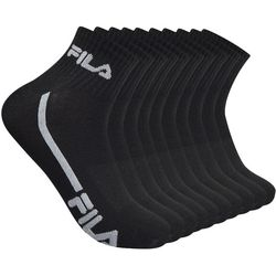 Fila Mens 10-pk. Logo Quarter Socks