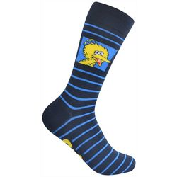 Nickelodeon Mens Big Bird Crew Socks