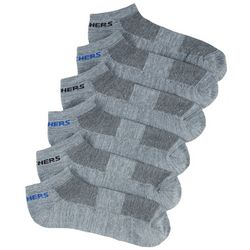 Skechers Mens 6-pk. Heathered Low Cut Socks