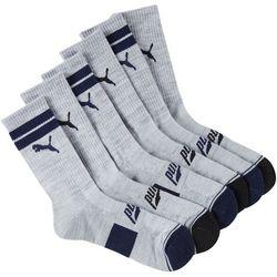 Puma Mens 6-pk. Terry Crew Socks