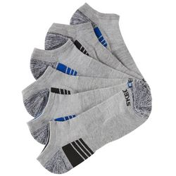 Skechers Mens 6-pk. Grey Sport No Show Socks